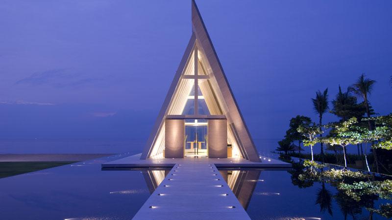 Infinity Chapel by Conrad Bali