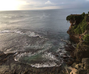 Uluwatu Cliff Sunset