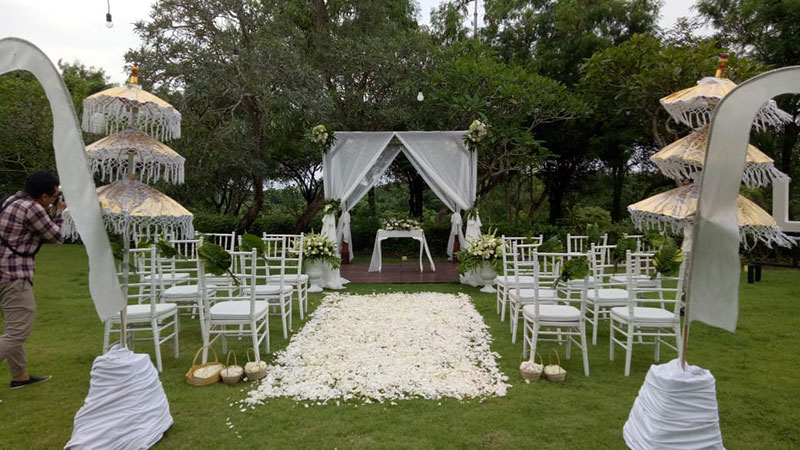 Private Garden Bali Wedding