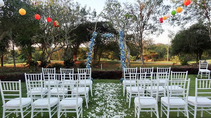 Private Garden Bali Wedding