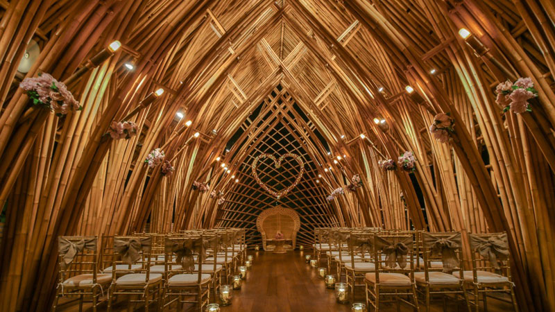 Bamboo Chapel Ubud