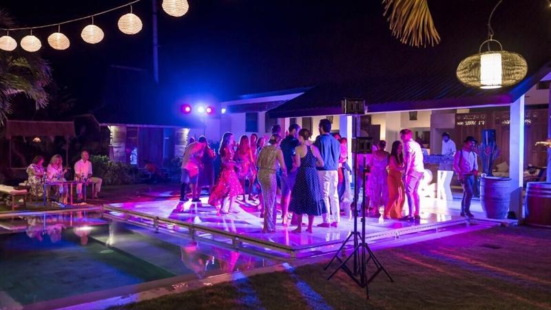 Stage & Dance Floor
