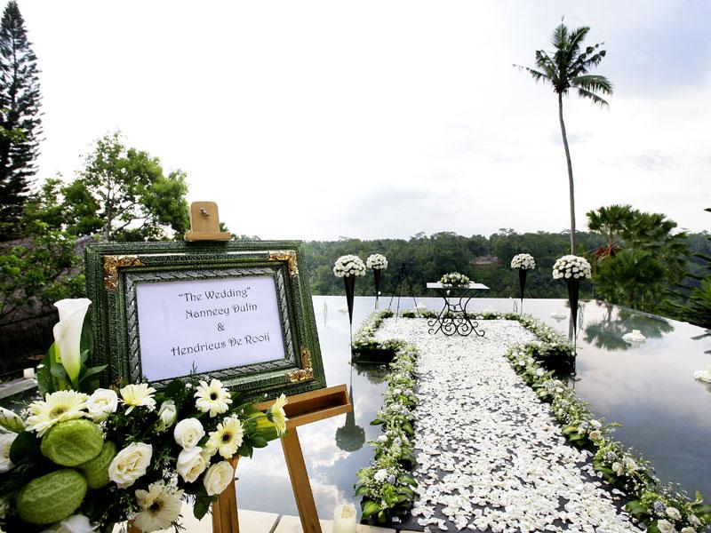 Ubud Water Wedding