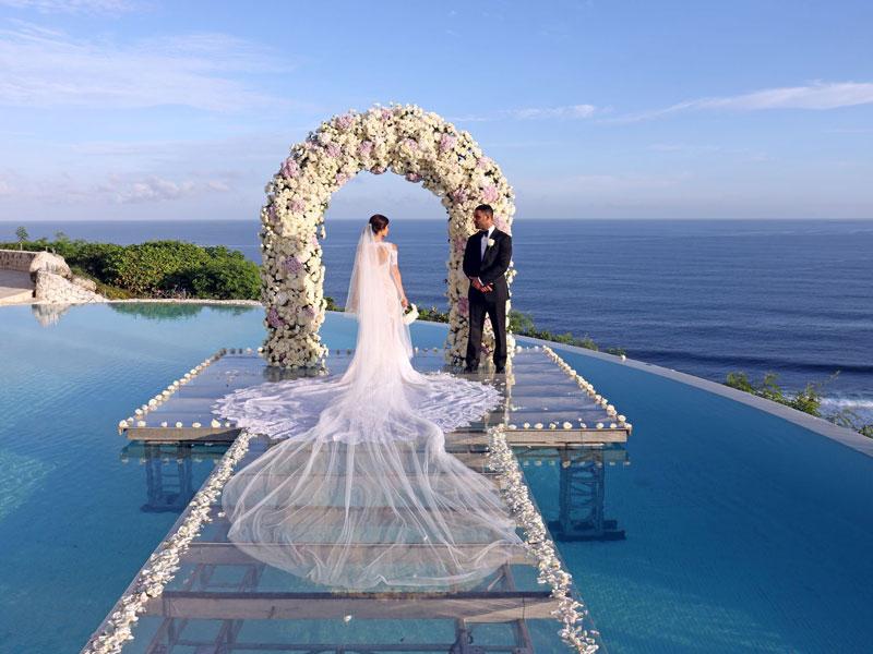 Karma Kandara Water Wedding