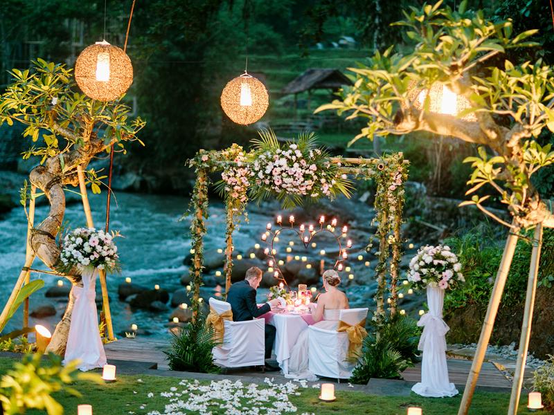 River Wedding