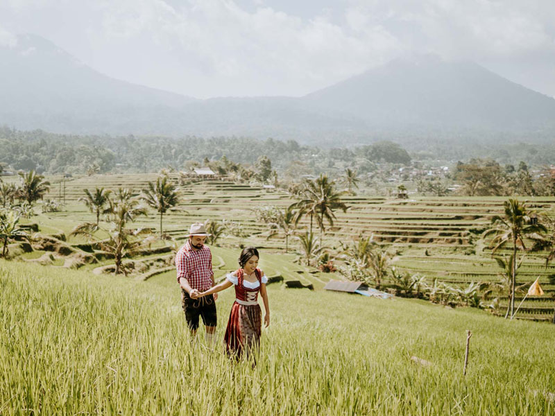 Rice Paddy Wedding