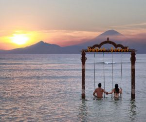Ombak Sunset Lombok