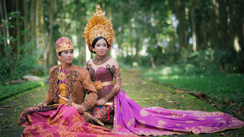 Traditional Balinese Costume